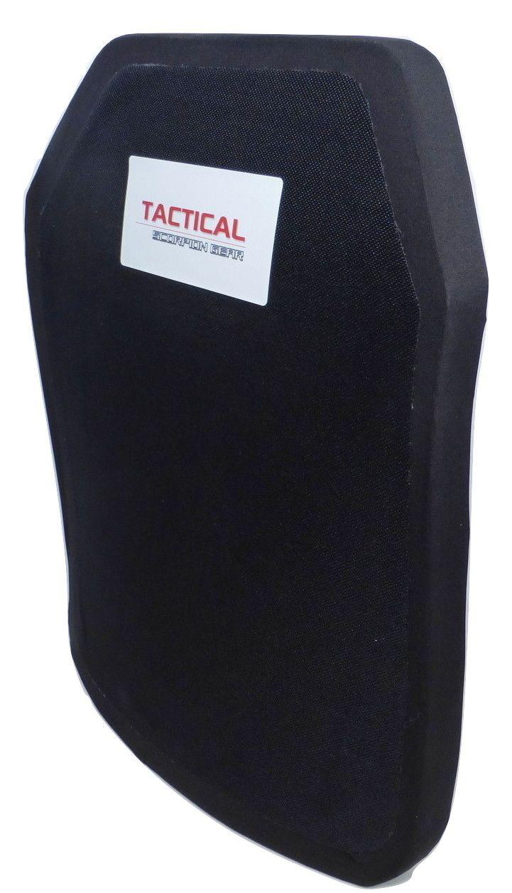 Tactical Scorpion Gear Level IV Polyethylene Body Armor 11x14 Plate
