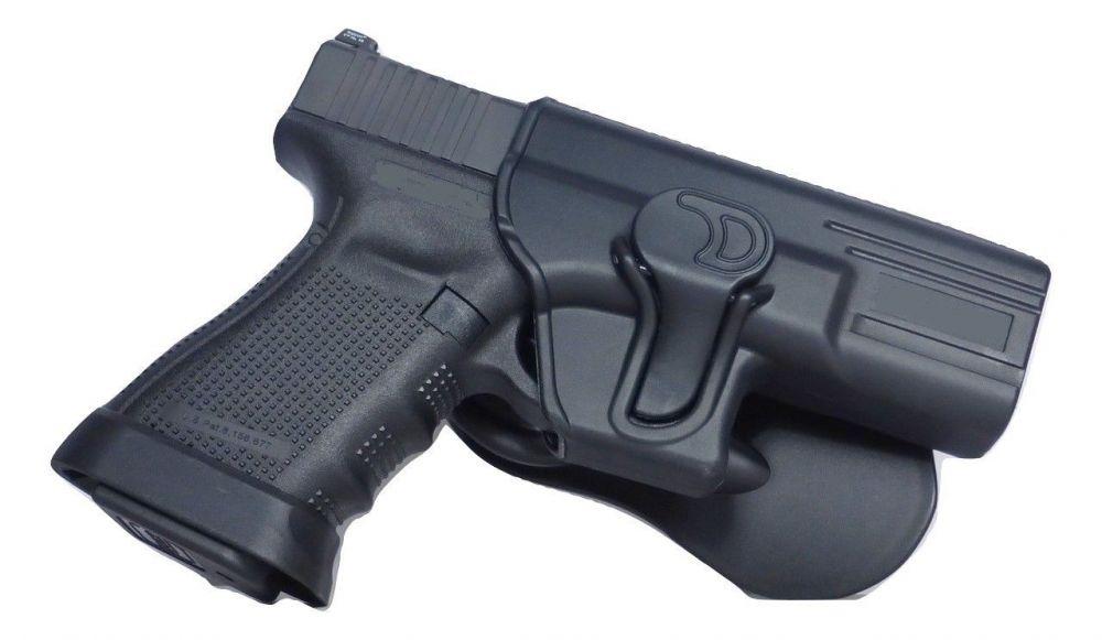 Tactical Scorpion: Fits Glock 43 Modular Level II Retention Paddle Holster