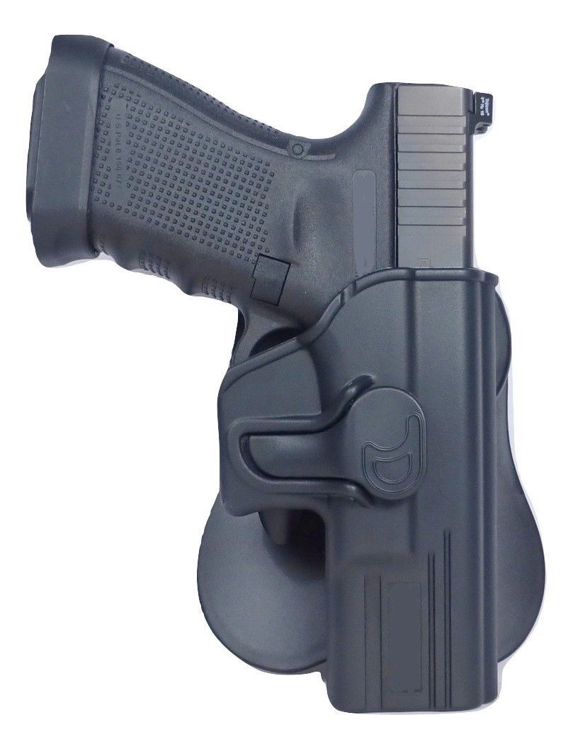 Tactical Scorpion Gear : Fits Glock 42 Level II Retention Polymer Paddle  Holster