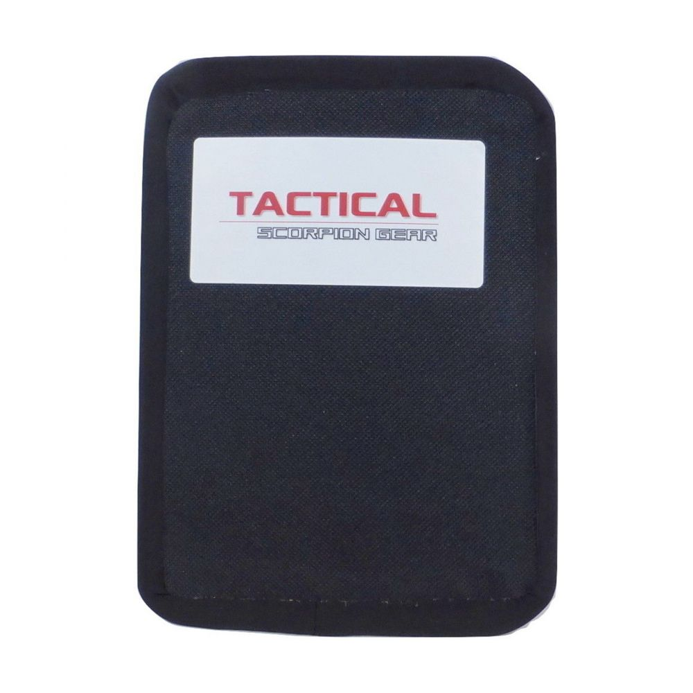 Tactical Scorpion Gear Level IIIA Aramid Body Armor Hard Curved 6 x 8 Plate