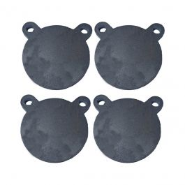 """1//2/"""" Thick AR500 Shooting Targets 4/"""" 6/"""" Gongs Set of FOUR"""