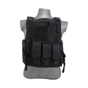 Bearcat Molle Plate Carrier Vest Black