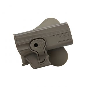 Cz-75-P07-P09-Modular-Level-Ii-Retention-Polymer-Paddle-Holster-Dark-Earth