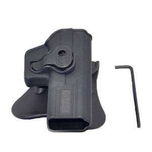 Glock-19-23-32-Modular-Level-Ii-Retention-Polymer-Paddle-Holster
