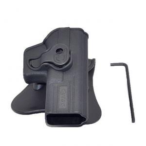 Glock-19-23-32-Modular-Level-Ii-Retention-Polymer-Paddle-Holster