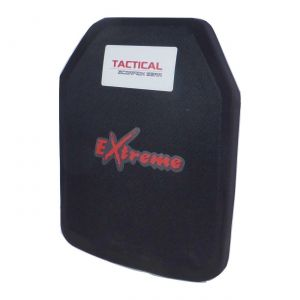 Tactical Scorpion Level III+ Extreme PE Body Armor Small SAPI Plate