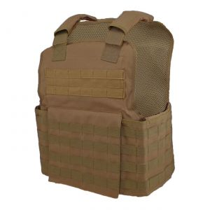 Muircat Molle Plate Carrier Vest 11X14 Coyote Brown
