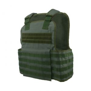 Muircat Molle Plate Carrier Vest 11X14 Green