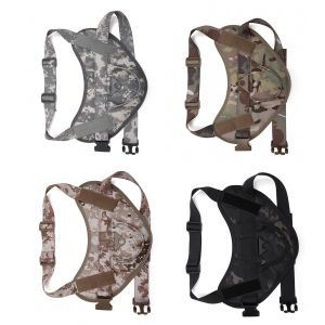 Tactical Scorpion D3 Small Canine Dog K9 Camo MOLLE Training Vest Harness