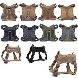 Tactical Scorpion D4 Dog K9 MOLLE Military Combat Edition Training Vest Harness