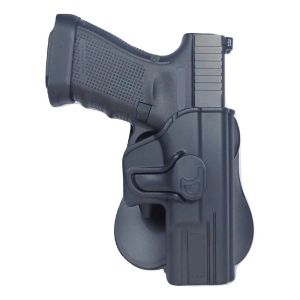 Glock 34 Modular Level II Retention Polymer Paddle Holster