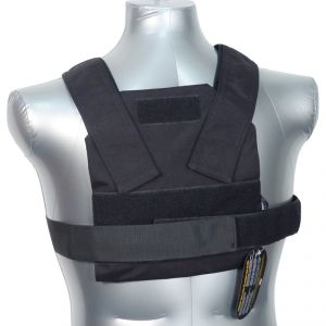 Tactical Scorpion Gear AR500 Bobcat 8X10 Concealed Body Armor Carrier Vest Black