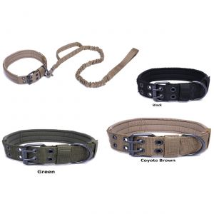 Tactical Scorpion Gear Dog Collar Canine Dog K9 Training Military- Nylon