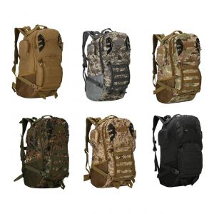 Tactical Scorpion Gear Military 45L Tactical Molle Backpack - Multiple Colors