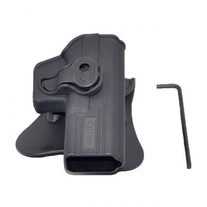Tactical Scorpion Gear Ruger LCP .380, Kel-Tec P380A, Taurus TCP Modular Level II Retention Polymer Paddle Holster-Small