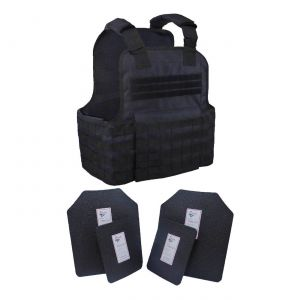 Tactical Scorpion Level Iii Ar500 Body Armor 11X14 Molle Muircat Vest Black