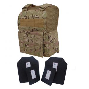 Tactical Scorpion Level Iii Ar500 Body Armor 11X14 Molle Muircat Vest Multicam
