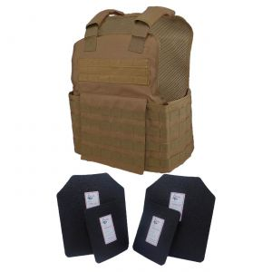 Tactical-Scorpion-Level-Iii-AR500-Body-Armor-Molle-Muircat-Vest-Coyote-Brown