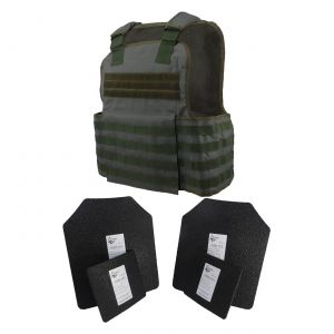 Tactical-Scorpion-Level-Iii-AR500-Body-Armor-Molle-Muircat-Vest-Green