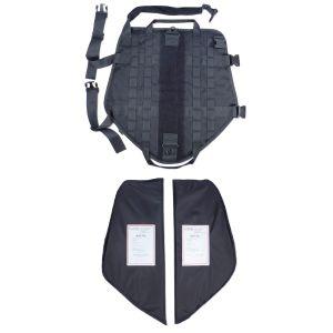 Tactical Scorpion Level IIIA Dog Body Armor Canine K9 Police Vest Harness D5