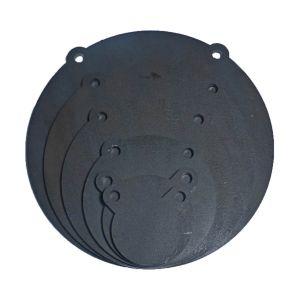 6 Laser Cut Set AR500 Steel 3,4,6,8,10,12