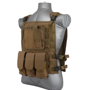 Wildcat-Molle-Armor-Plate-Carrier-Vest-Coyote-Brown