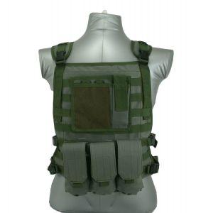 Wildcat-Molle-Armor-Plate-Carrier-Vest-Green