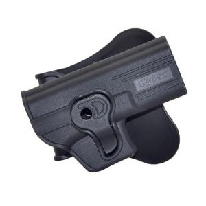 Glock 19 23 32 Modular Level Ii Retention Polymer Paddle Holster