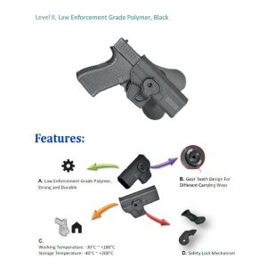 Led Flashlight Polymer Paddle Pouch