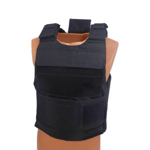 Level III AR500 Armor Steel 2 Piece Lightweight Vest - Black