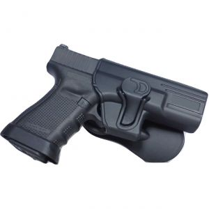 Glock 17 22 31 Modular Level II Retention Polymer Paddle Holster
