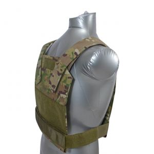 Tactical Scorpion Gear AR500 Bobcat Concealed Body Armor Carrier Vest Multicam