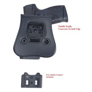 For Glock 42 Thumb release Level II Polymer Holster Tactical Scorpion Gear Gear