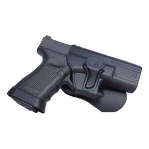 Springfield XDS Modular Level II Retention Polymer Paddle Holster-Thumb