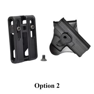 Tactical Scorpion Gear Ruger SR9 SR9c Modular Level II Retention Paddle Holster