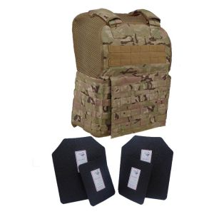Tactical Scorpion Level Iii Ar500 Body Armor 11X14 Molle Muircat Vest Multicam Image 1