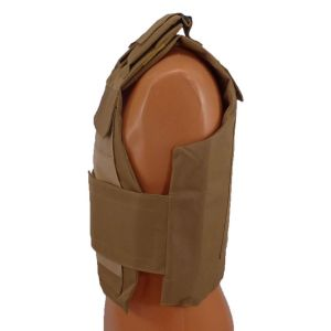 Level III AR500 Armor Steel 2 Piece Lightweight Vest-Coyote Brown