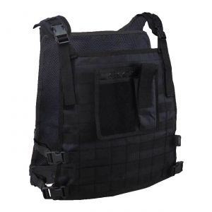 Wildcat Molle Armor Plate Carrier Vest Black