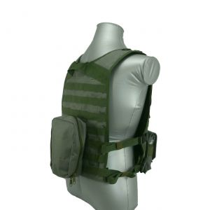 Wildcat Molle Armor Plate Carrier Vest Green